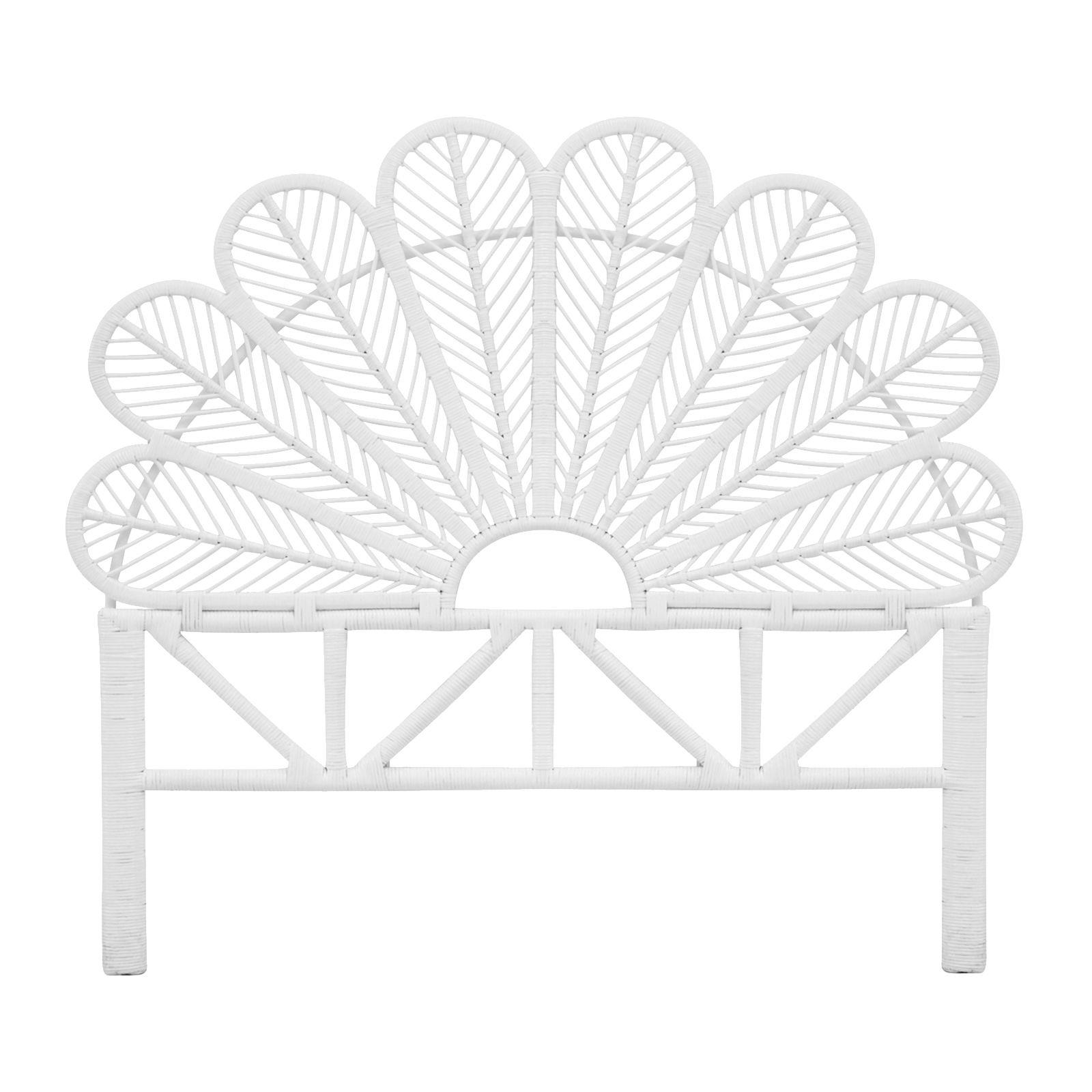 Queen Petal Bed Head White | CasaMaseeg | Pinterest | Cabeceras de ...