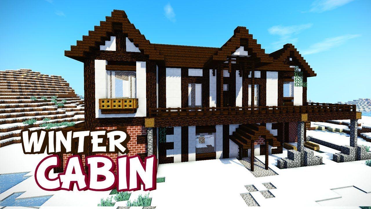 Minecraft: Speed Build  Winter Cabin https://cstu.io/b9a9b