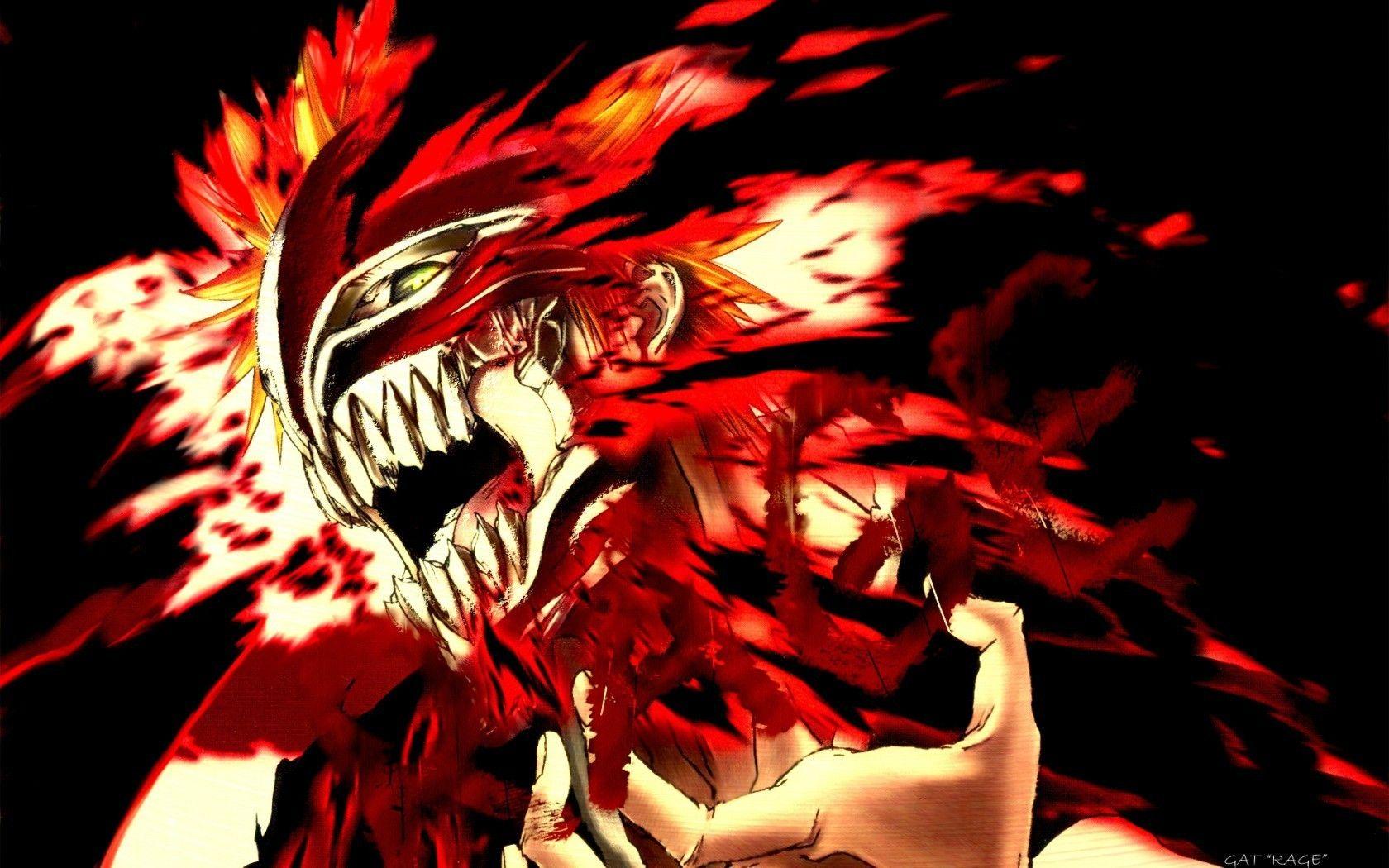 Bleach Anime images Bleach Pics: hollow Ichigo HD wallpaper and ...
