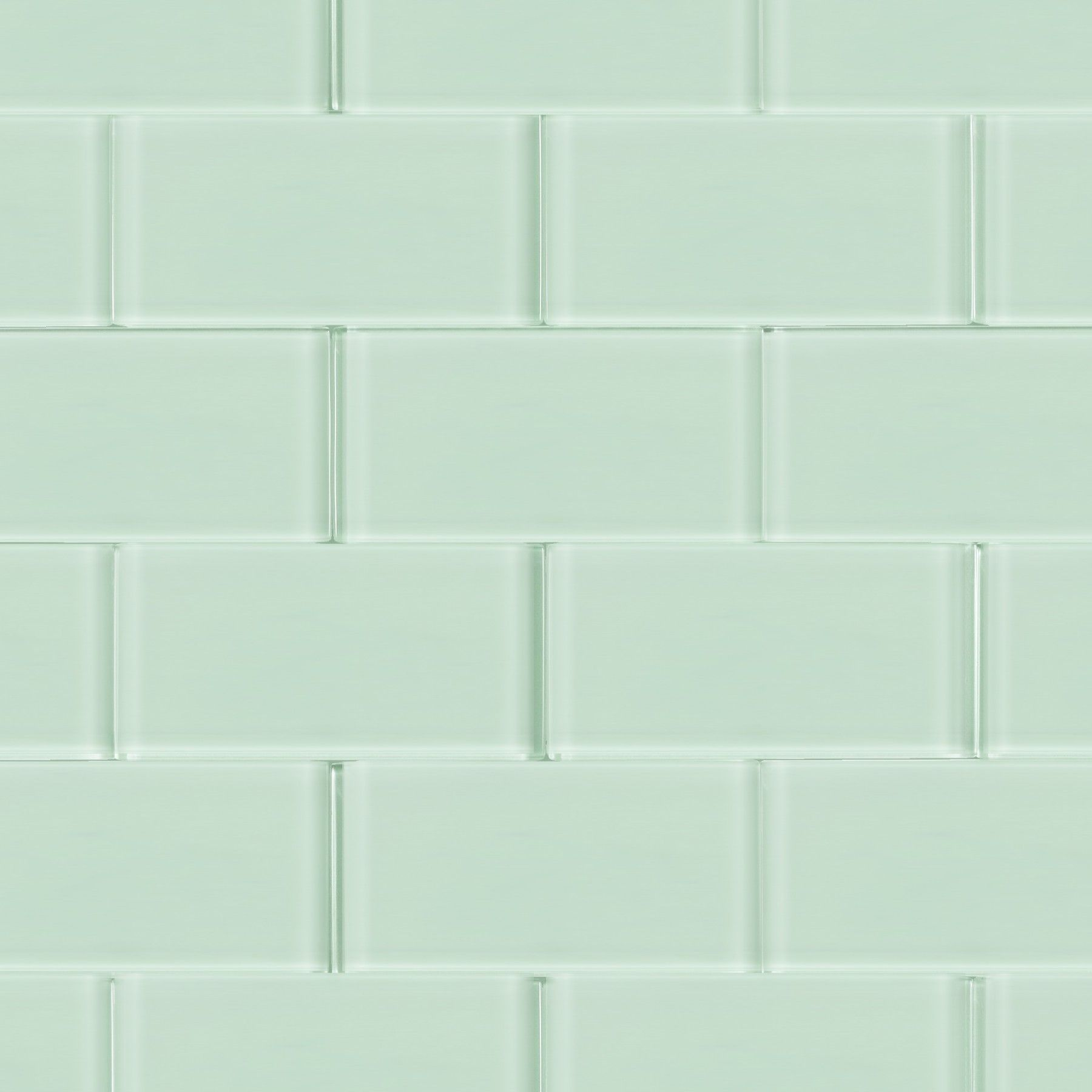 For Loft Seafoam Frosted 3 X 6 Gl Tiles At Tilebar