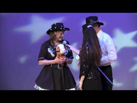 Debbie Johnston - Dancing with the Richmond Stars COUNTRY 2STEP