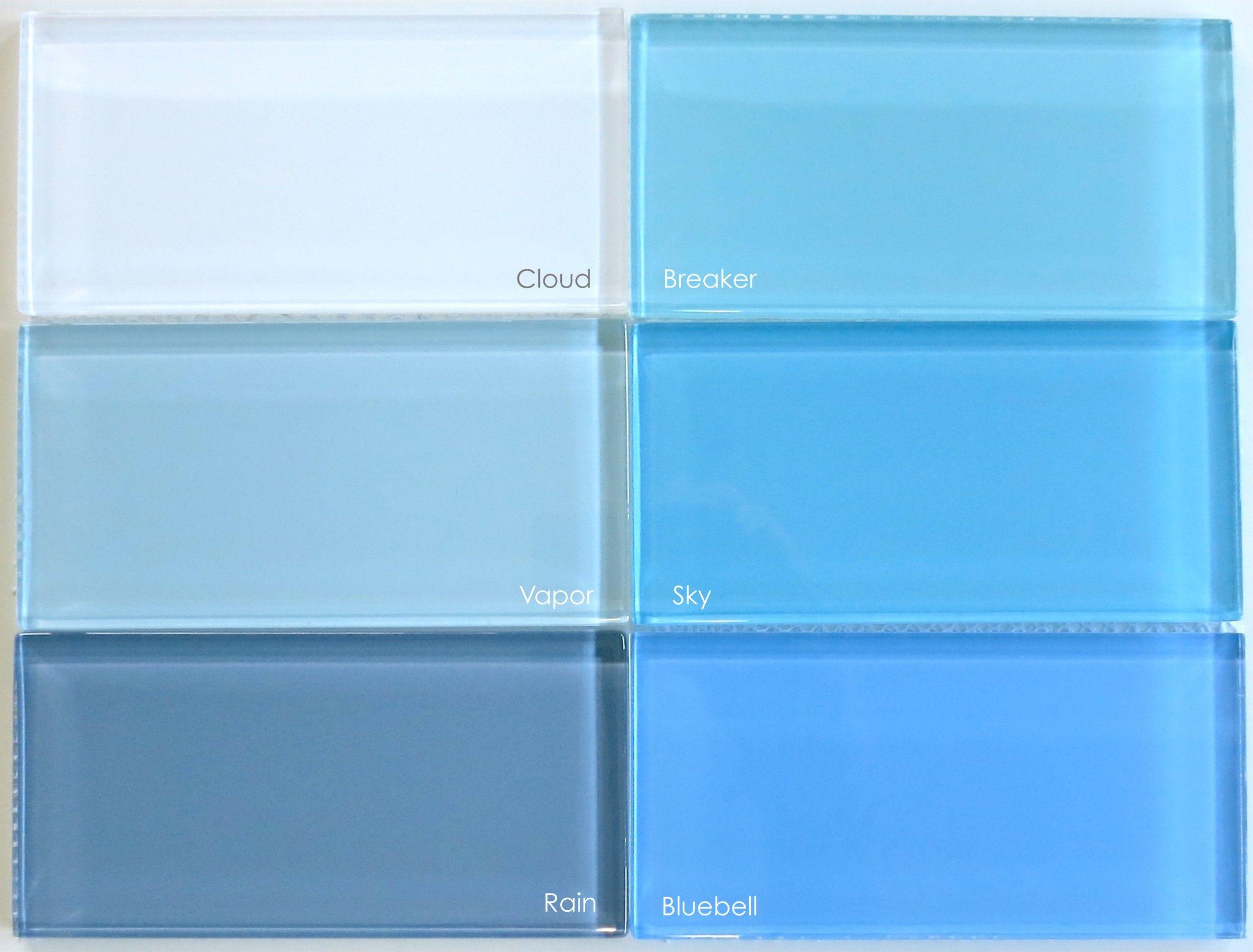 sky blue glass subway tile modwalls