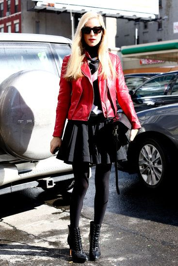 New York Fashion Week Fall 2013 Joanna Hillman
