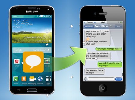 For Those Of You Who Want To Copy Their Messages From Old Android To A New Iphone Here Is A Simply Way Which Helps Sms Text Message Sms Message Text Messages