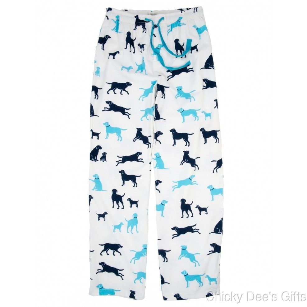 Hatley Men s Flannel Pajama Lounge Pants CLASSIC LABS Dog