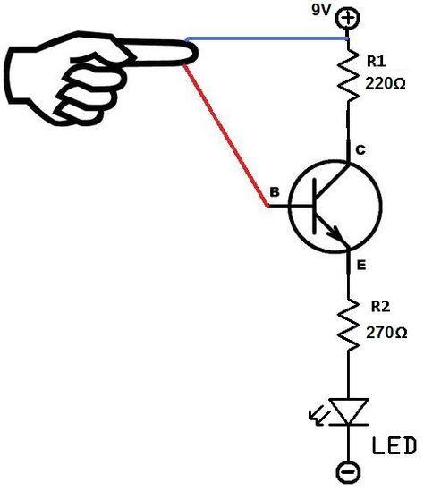 touch sensor circuit schematic