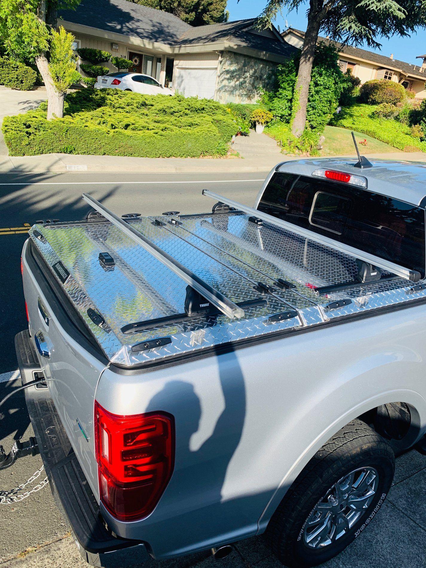 DiamondBack Cover with Yakima HD Rack 2019 ford ranger