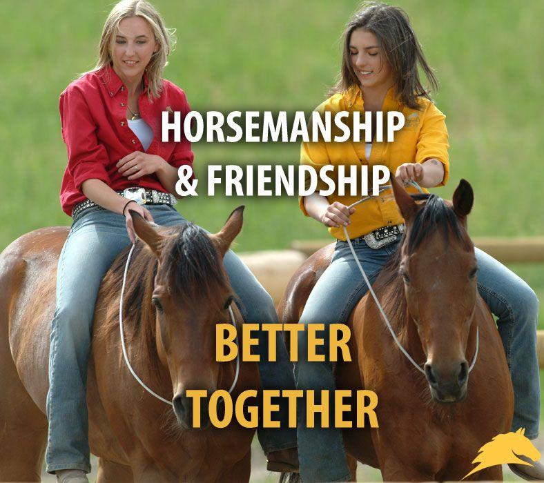 Horsemanship & friendship - better together!