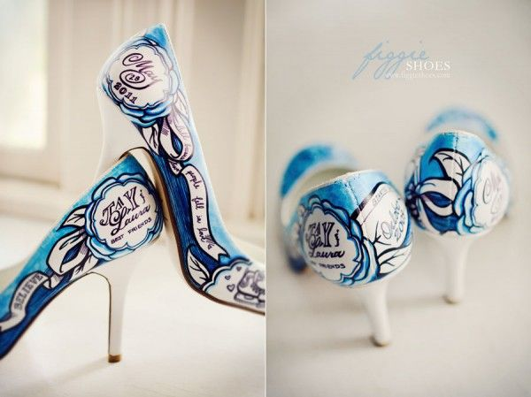 Simply Fabulous Original Custom Painted Shoes By Figgieshoesfor The