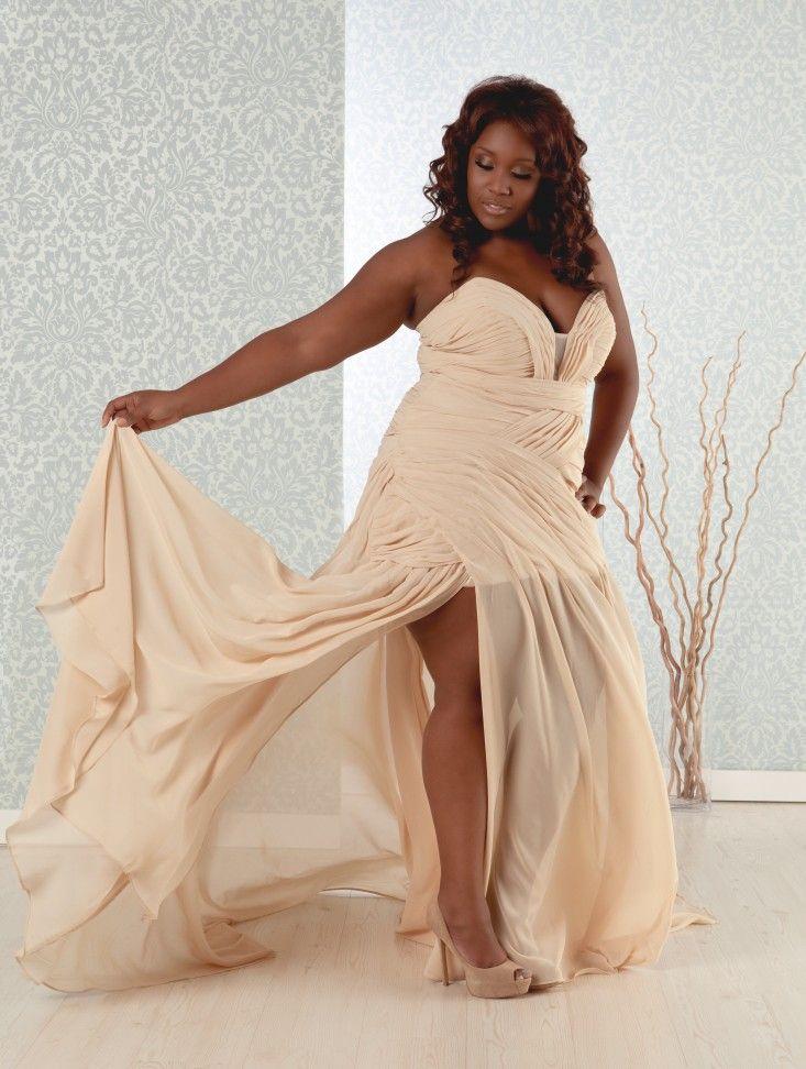 Giavanna Sexy Plus Size Reception Dress Wedding Off Retail