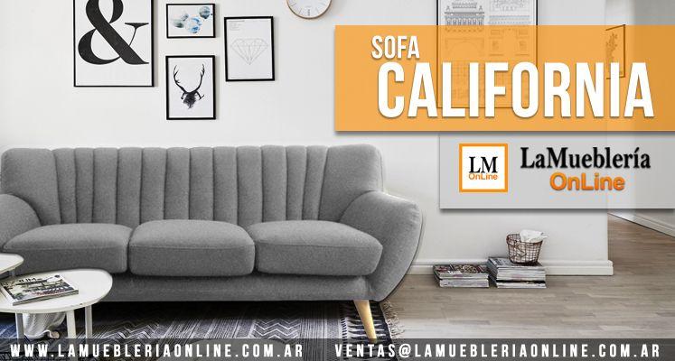 Sofa California en La Muebleria OnLine