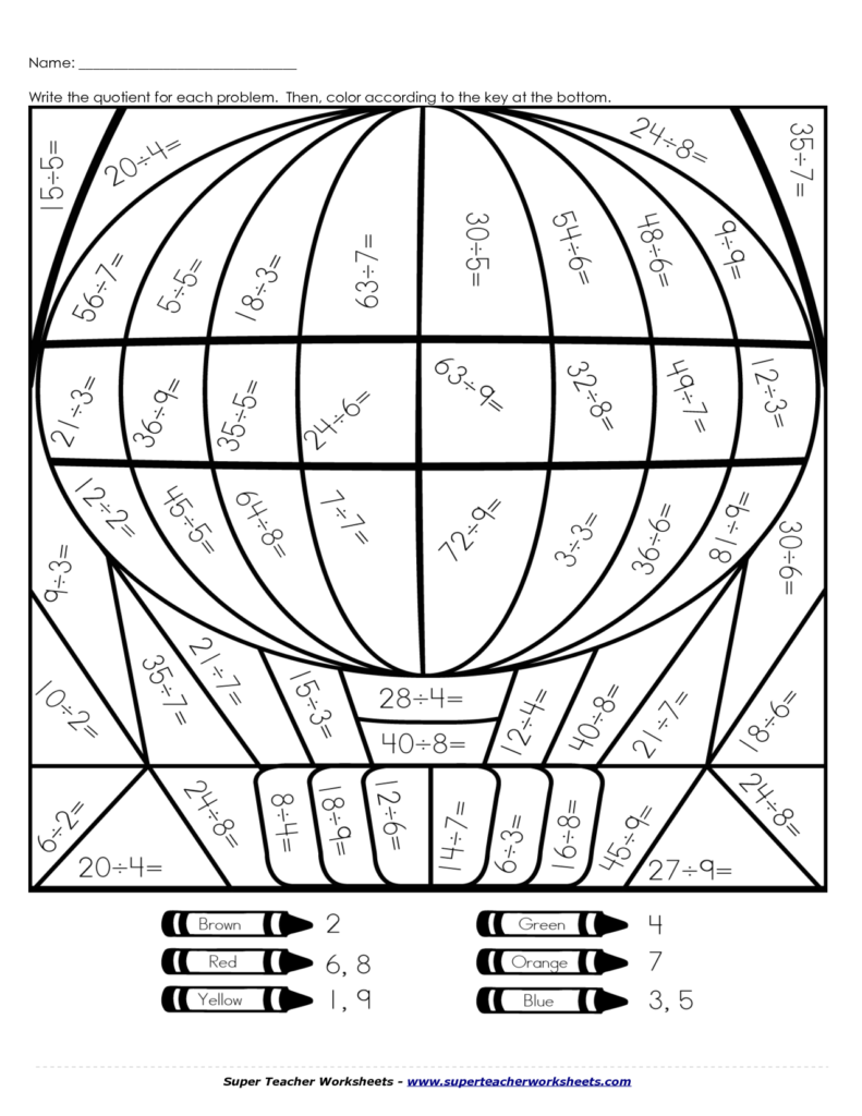 medium resolution of Multiplication Worksheets   Math coloring worksheets