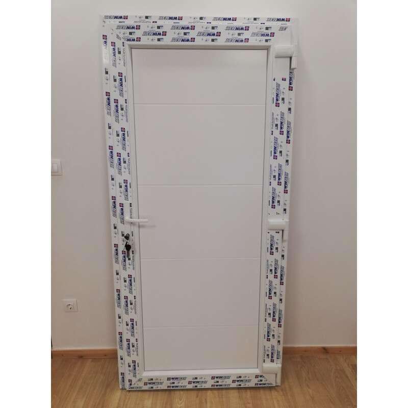 Minimal plastic Entrance door 98x208cm # white