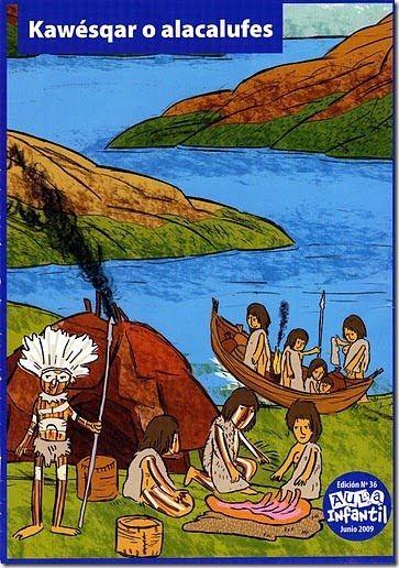 alacalufes  pueblos originarios  Pinterest  Chile Historia y