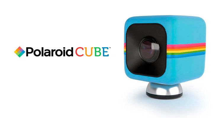 cámara polaroid cube