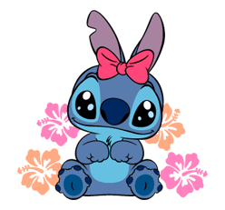 The Mischievous Little Alien Is Here To Play Look He Brought Scrump With Him Too June 26 Stitch Day