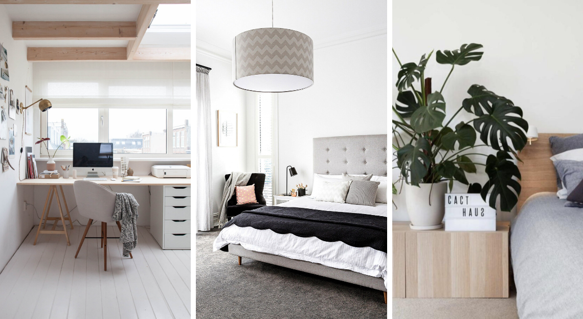 7 Idees Pour Amenager Une Grande Chambre Grande Chambre Decoration Maison Et Mobilier De Salon