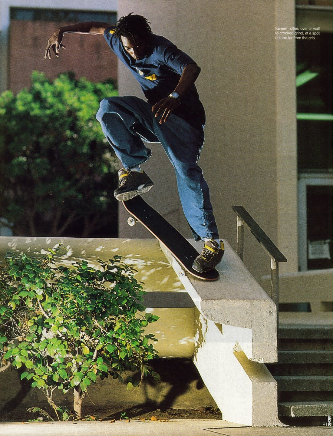 Kareem Campbell One Of My Childhood Legends Skateboarding Is Not