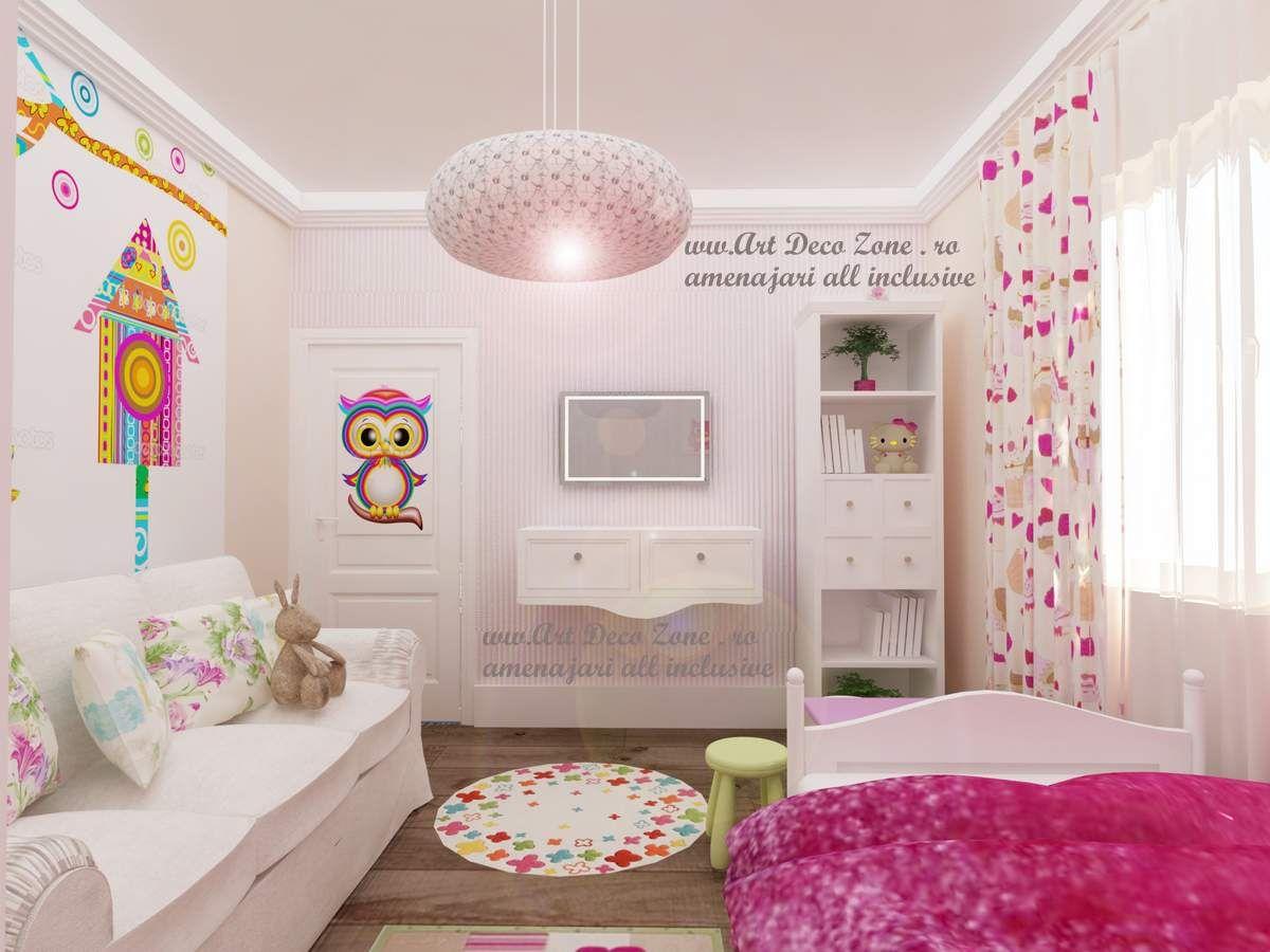 Poze design camere copii - Art Deco Zone & Knox Design - Amenajari ...