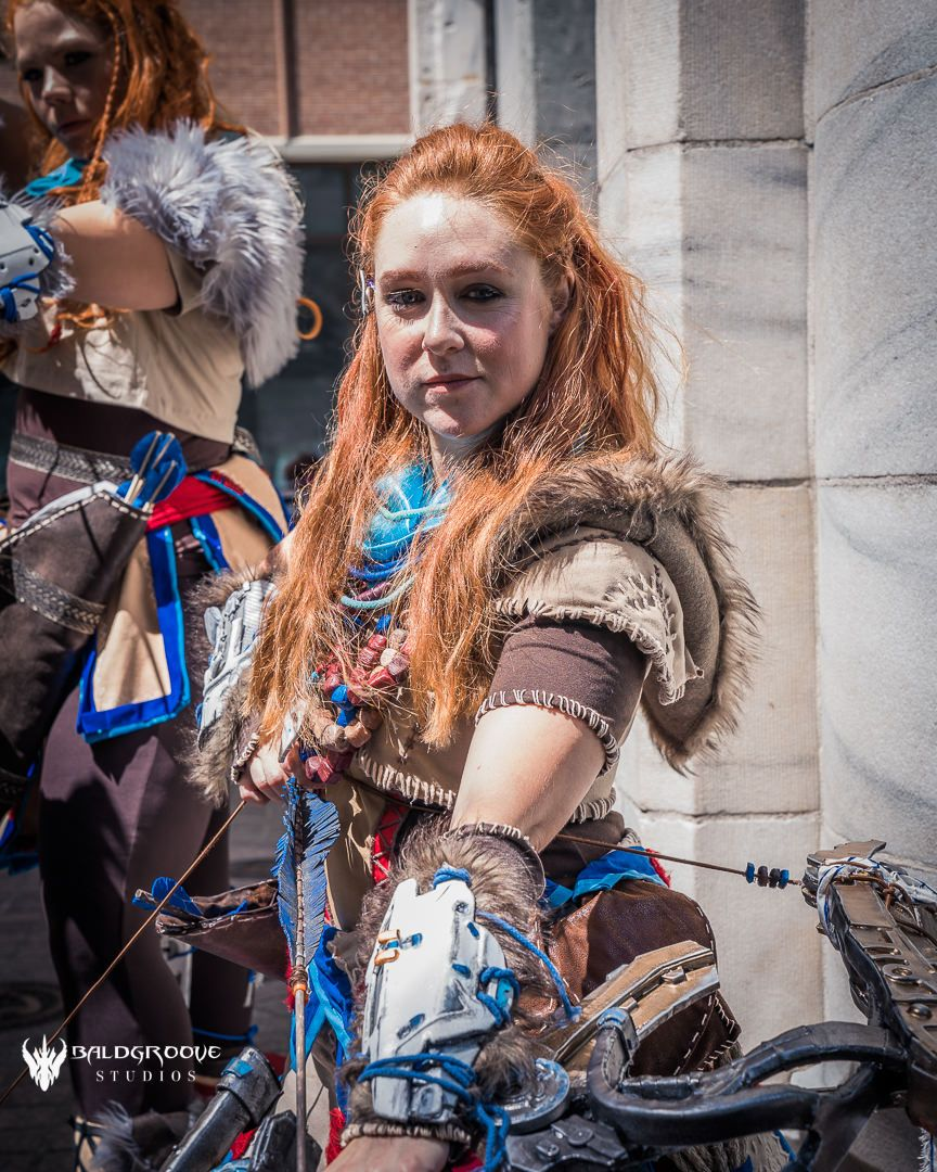 Bluefaecosplay As Aloy From Horizion Zero Dawn Cosplay