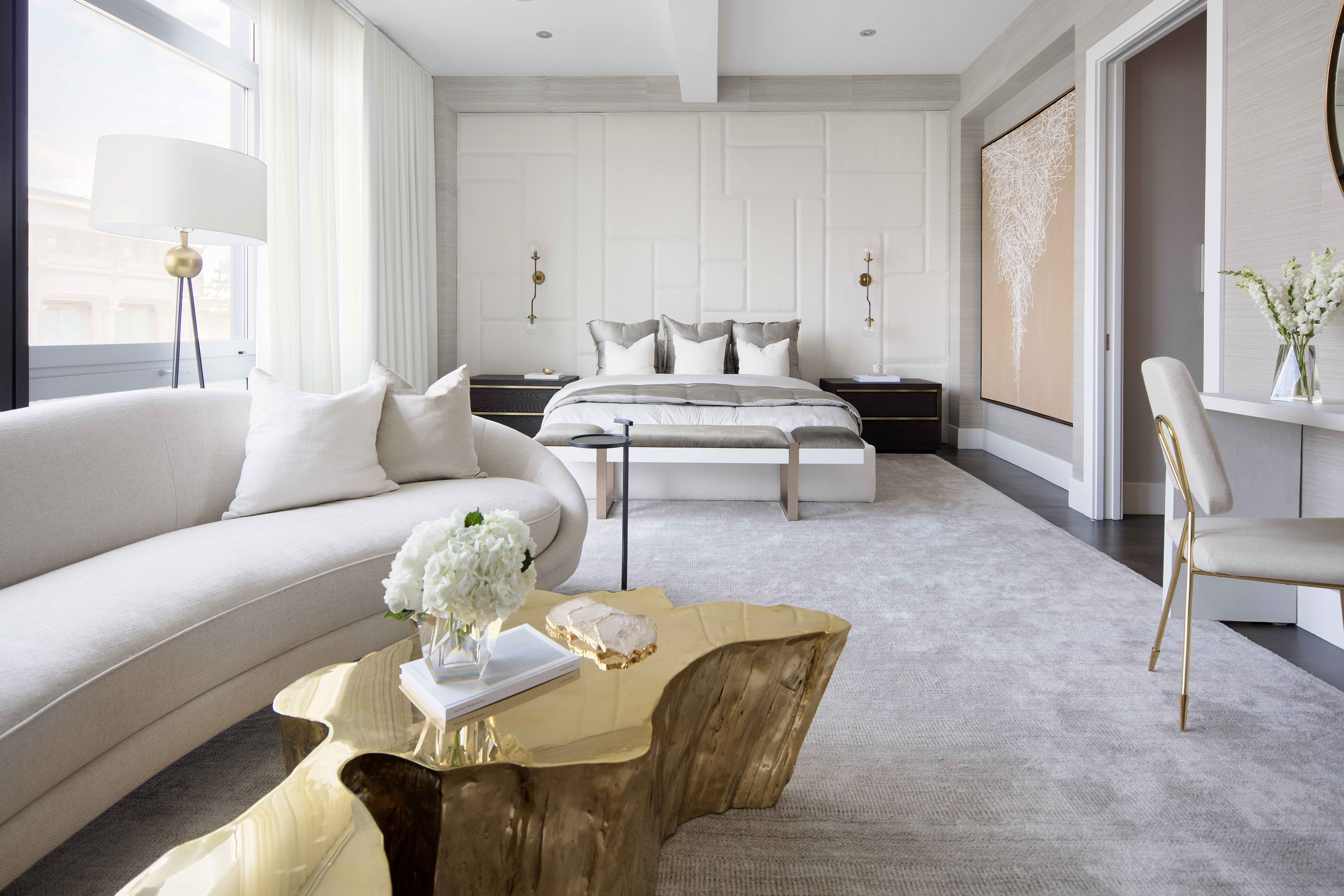Soho Penthouse Designed And Photographed By Img Nyc Interior Design Interior Design New York Luxurious Bedrooms