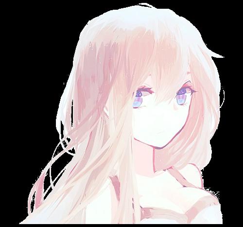 anime girl transparent - google