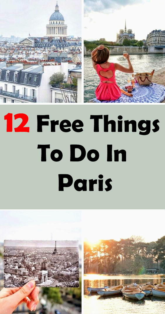 free things to do in paris in march
