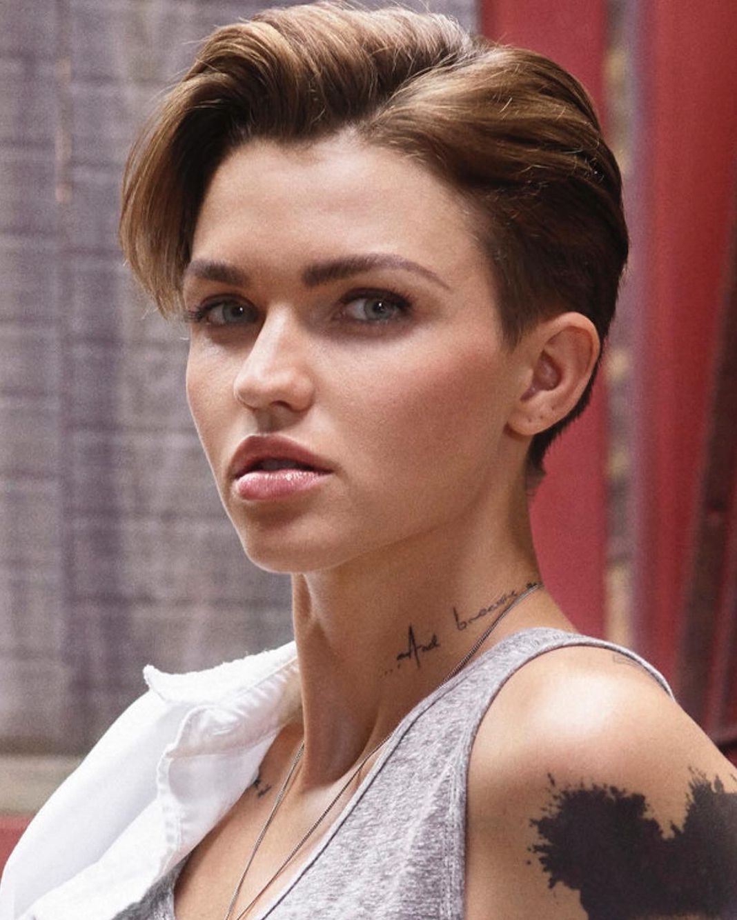 Ruby Rose Www Facebook Com Ilovehotandcutecelebrities Ruby Rose Hair Ruby Rose Haircut Rose Hair