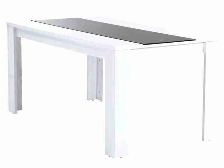 8 Pascher Table Blanc Laque Conforama Photograph