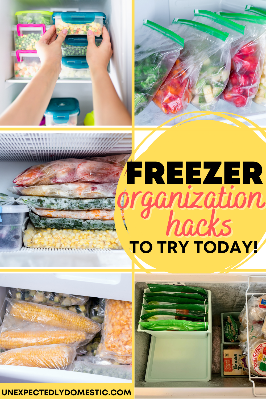The Best Way To Organize Your Chest Freezer To Find Things Easily Chest Freezer Freezer Organization Deep Freezer Organization