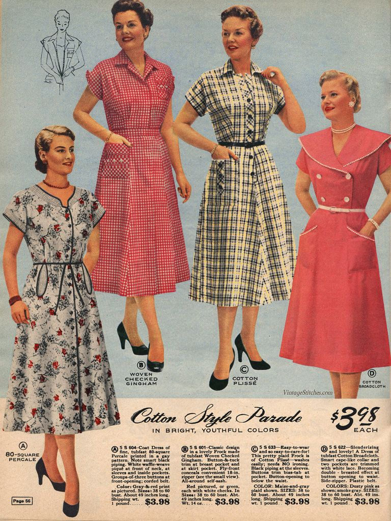 Spring and Summer 1955 Lane Bryant in 2019 | Spring and Summer 1955 ...