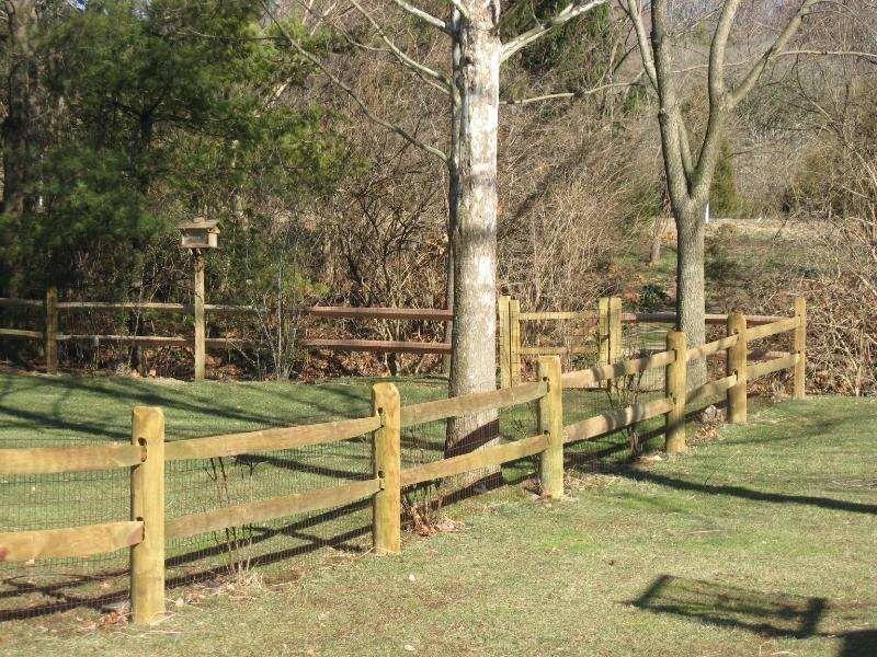 wood rail fences designs Wood Fences Pro Max Fence Systems Inc