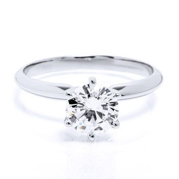 2.26ct Round Brilliant Diamond Solitaire Ring SI2 by JRYATES