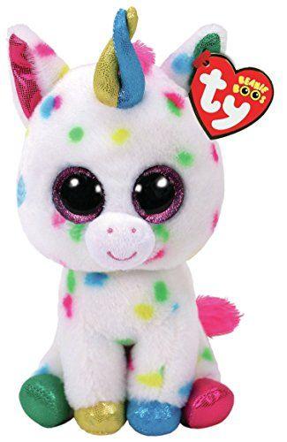 11211a95872 TY Beanie Boo HARMONIE - Speckled Unicorn