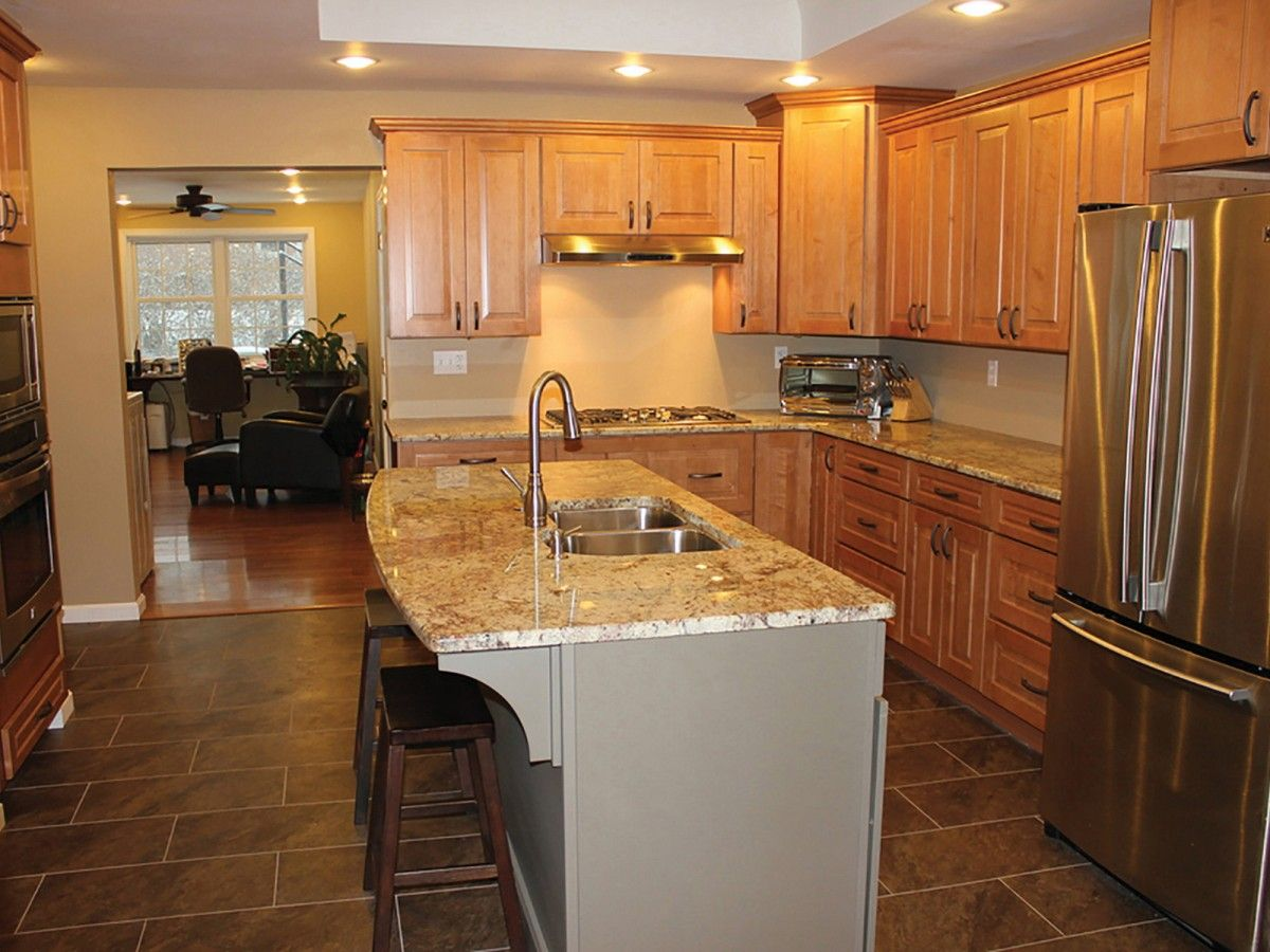 Orange California Kitchen Renovation Features Cliqstudios