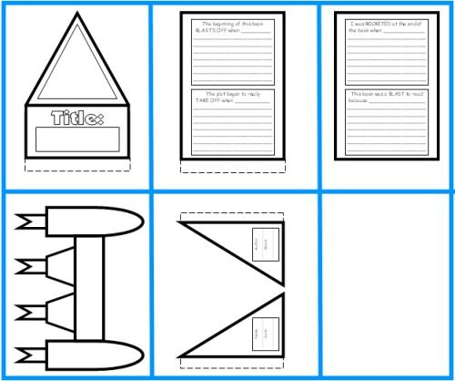 graphic about Rocketbook Printable Pages named Rocket E-book Write-up Undertaking: templates, worksheets, grading