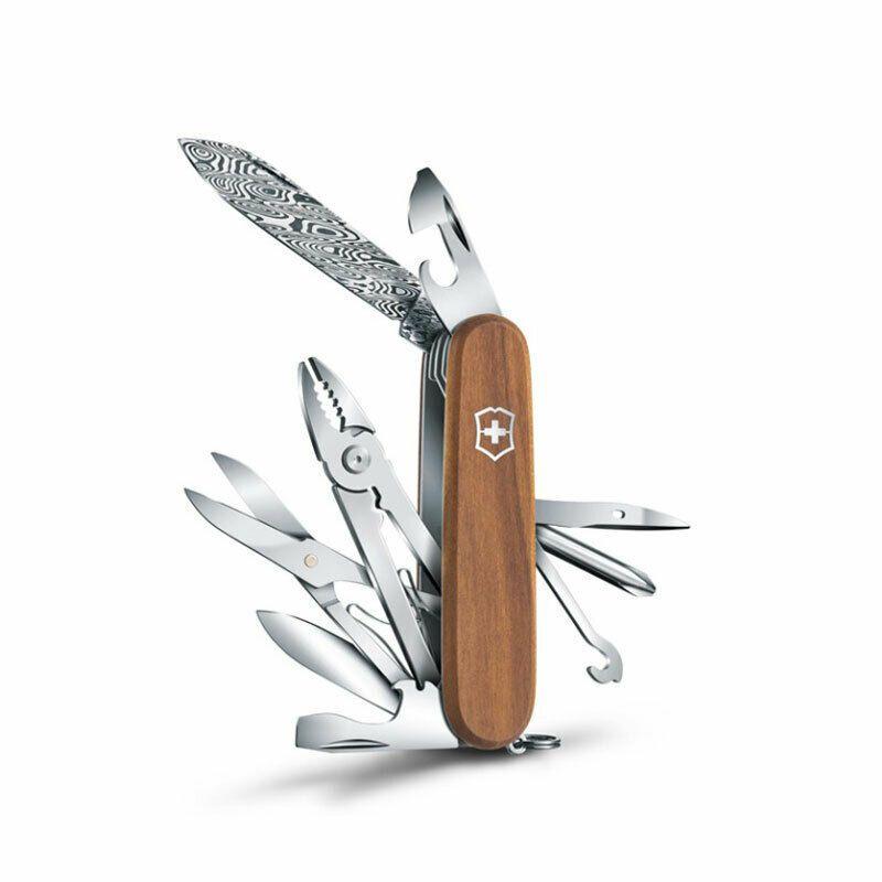 Limited Edition 1 4721 J18 Victorinox Deluxe Tinker Damast Pocket Knife Swiss Victorinox