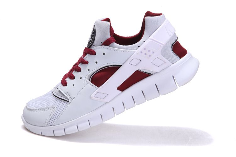 b13ad38a4f17 Top Quality Nike Huarache Free 2012 Runs White Maroon Red Factory,Nike Free  Shoes for ...