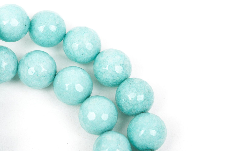 gms0073 AQUAMARINE strand 12mm Matte MORGANITE HELIODOR Round Gemstone Beads