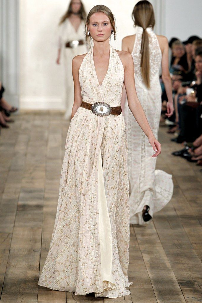 fa19f7faea10 Ralph Lauren Spring 2011 Ready-to-Wear Fashion Show - Charlotte di Calypso