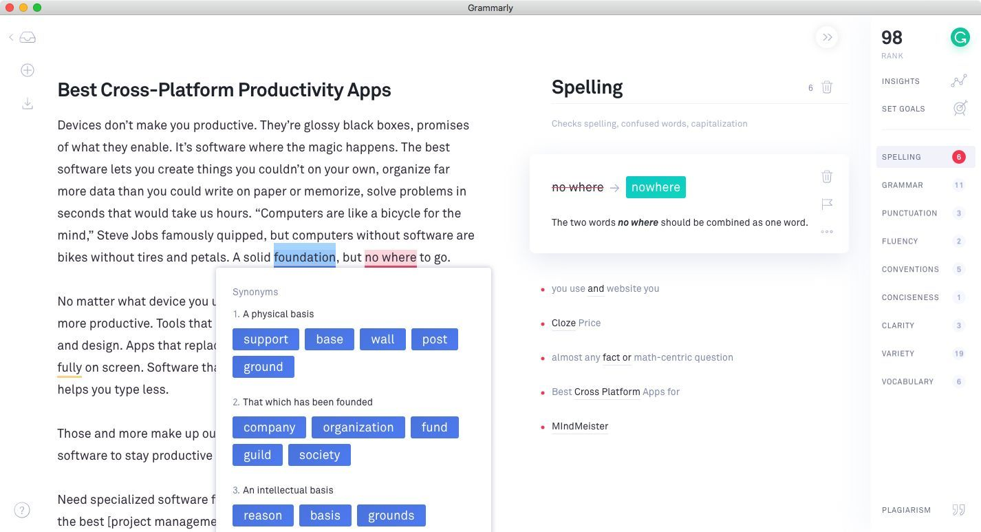 Grammarly Chrome Extension - Reviews on Top