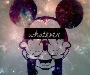 Disney Galaxy And Mickey Image On We Heart It