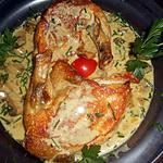 Photo of Guinea Fowl Supremes with Mushroom Sauce Recipe