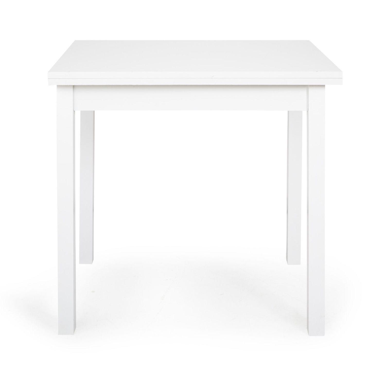 Alinea Twist Table Table De Cuisine Modulable 80cm A 120cm Blanc X80 0x75 0x60 0 Table Home Decor Furniture
