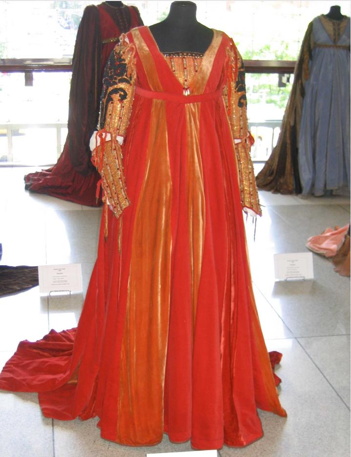Juliet Ball Gown Zeffirelli Renaissance Fashion Costume Design Dresses