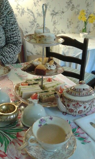 Delicious afternoon tea at Hillman's Tea Room. A very original selection of treats and loose leaf tea. The tea room is small but with beautiful vintage decor and vynil vintage music. So very intimate and great for a girly catch up in style.  Would highly recommend it!