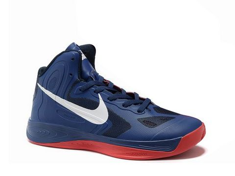 Nike Hyperfuse 2012 Shoes Blue Red