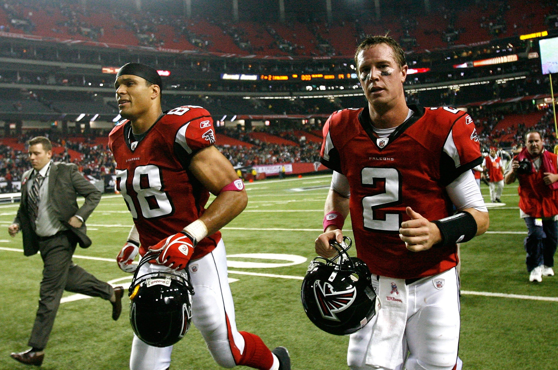 Tony Gonzalez And Matt Ryan Atlanta Falcons Fans Atlanta Falcons Football Falcons Football