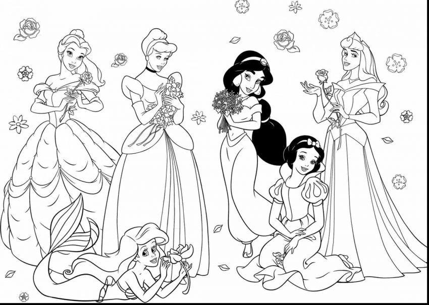 Disney Princess Coloring Pages Download Malvorlage Prinzessin Ausmalbilder Kostenlose Ausmalbilder