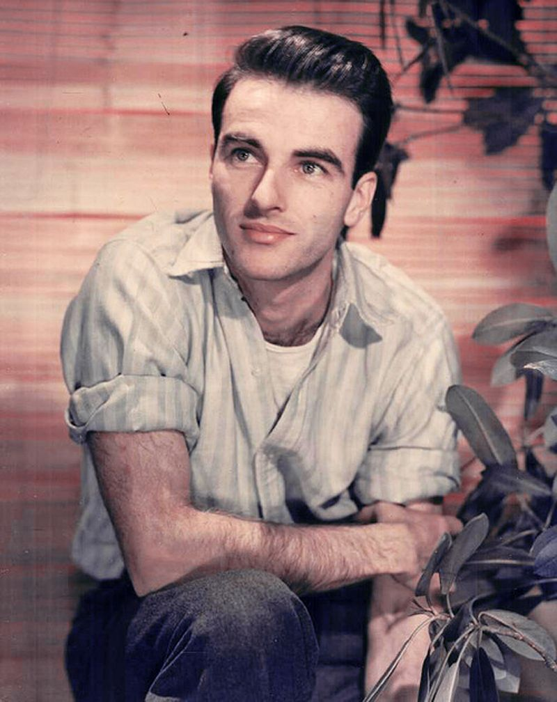 montgomery clift photos after accident